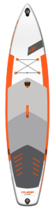 JP Australia SUP Cruisair LE 3DS 2021 deck