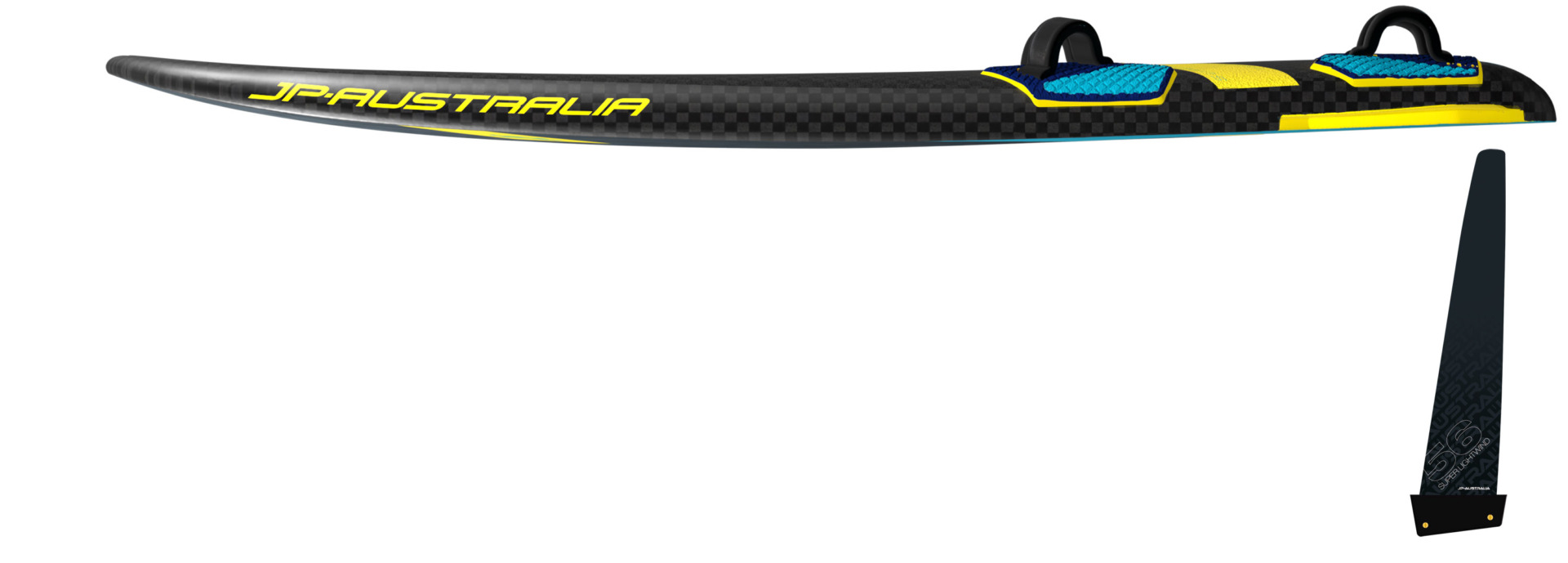 JP Australia SuperLightWind Gold 2021 rail